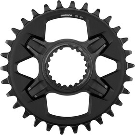 Shimano Deore XT SM-CRM85 Corona dentata DM 1x12 velocità per FC-M8100 | FC-M8120 | FC-M8130, nero